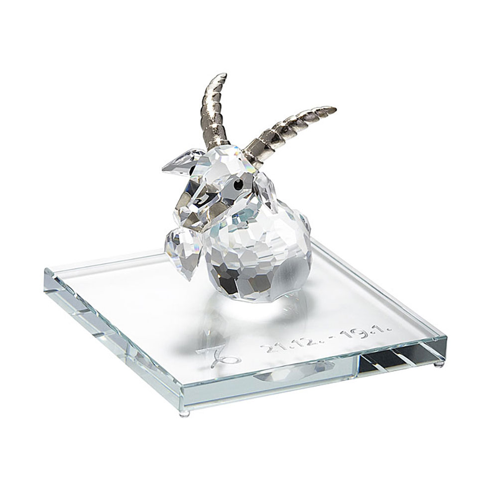 Preciosa Crystal Capricorn Zodiac Figurine