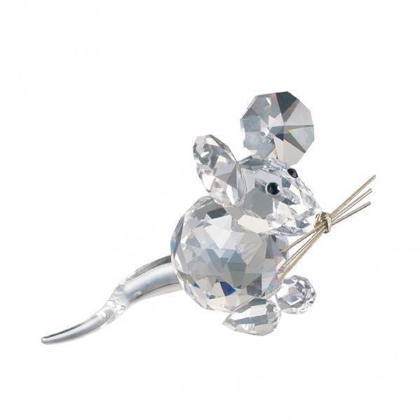 Preciosa Crystal Mouse Figurine