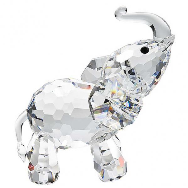 Preciosa Crystal Standing Elephant Figurine