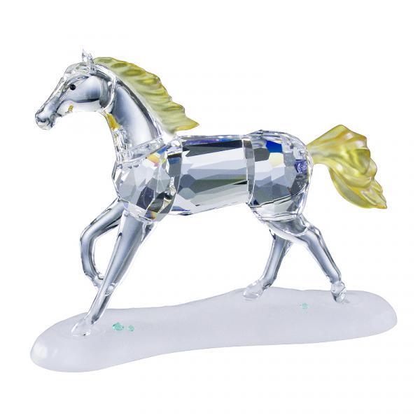 Preciosa Crystal Colt Figurine -2003 Designer Series