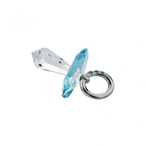 Preciosa Crystal Blue Pacifier
