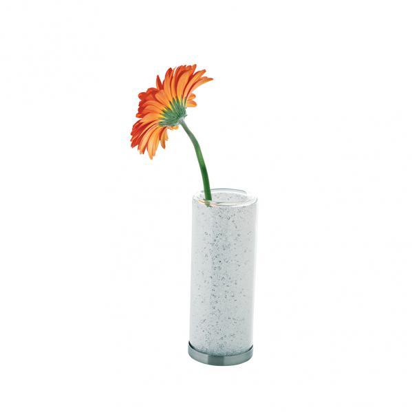 Preciosa Crystal Bub Vase with Sparkling Crystal Stones