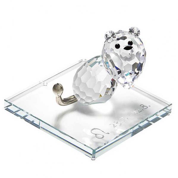 Preciosa Crystal Zodiac Leo Figurine