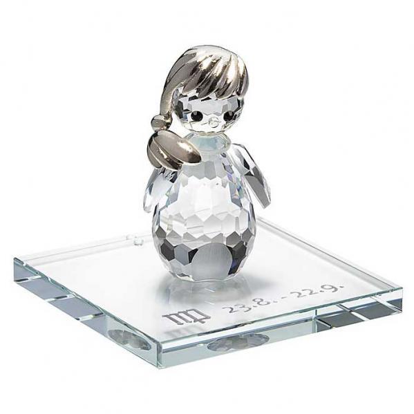 Preciosa Crystal Zodiac Virgo Figurine