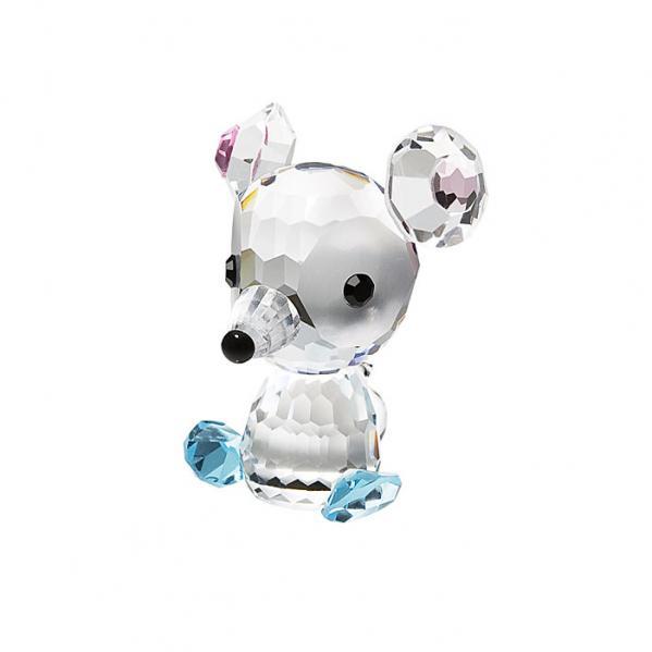 Preciosa Crystal Mouselet Nibble Birthday Figurine