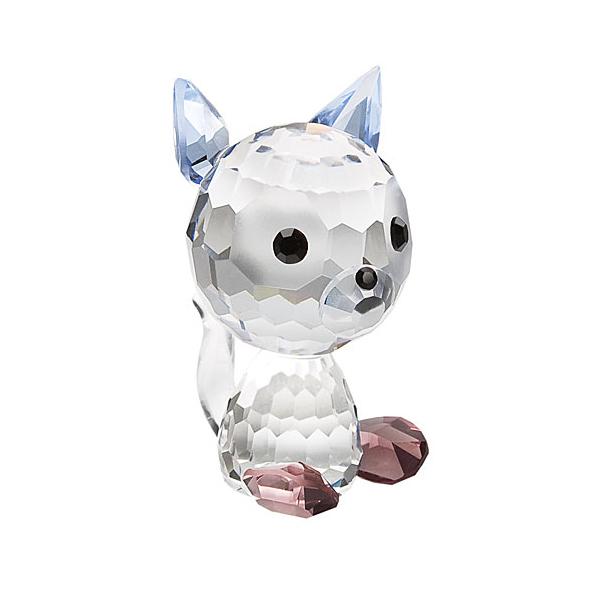Preciosa Crystal Kitty Muffin Birthday Figurine