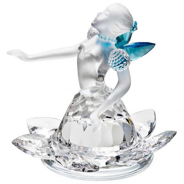 Preciosa Crystal Butterfly Fairy Figurine