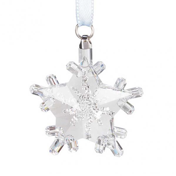 Preciosa Crystal Snowflake Star Ornament