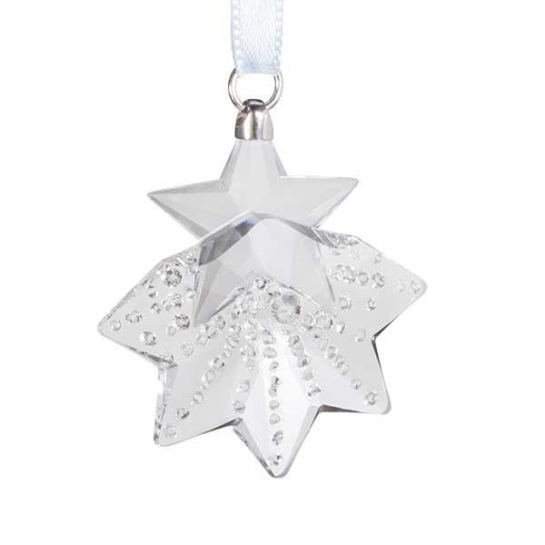 Preciosa Small Crystal Snowflake Ornament