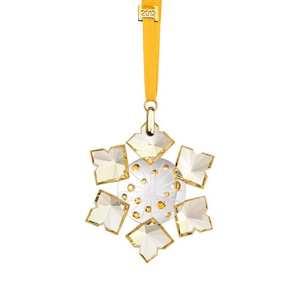 Preciosa Crystal 2012 Annual Christmas Ornament