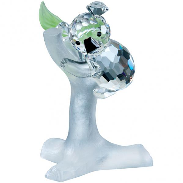 Preciosa Crystal Koala Bear Figurine on Branch