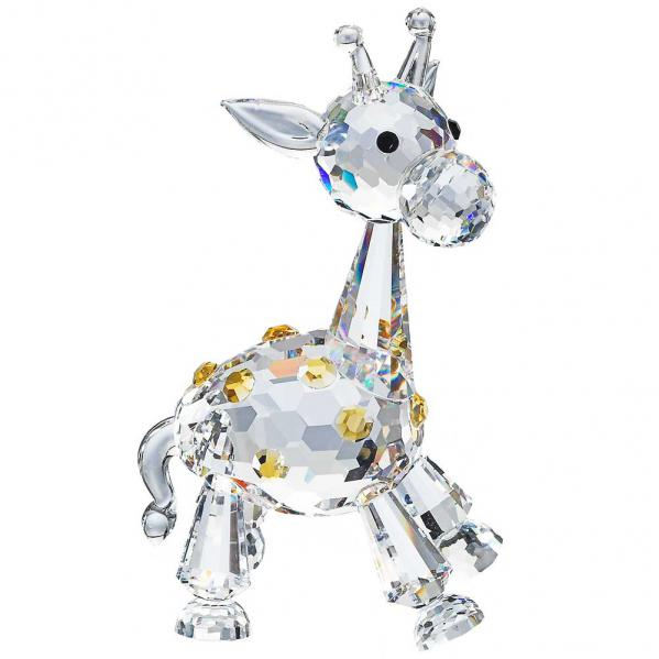 Preciosa Crystal Baby Giraffe Figurine