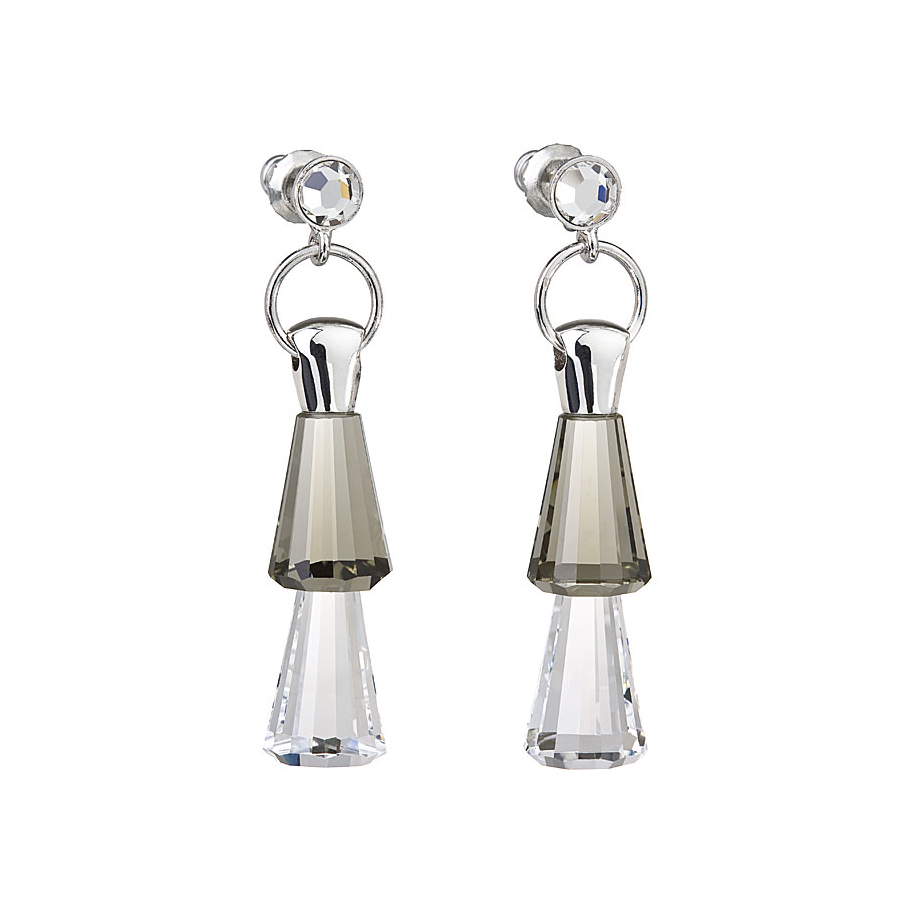 Preciosa Crystal Duo Earrings