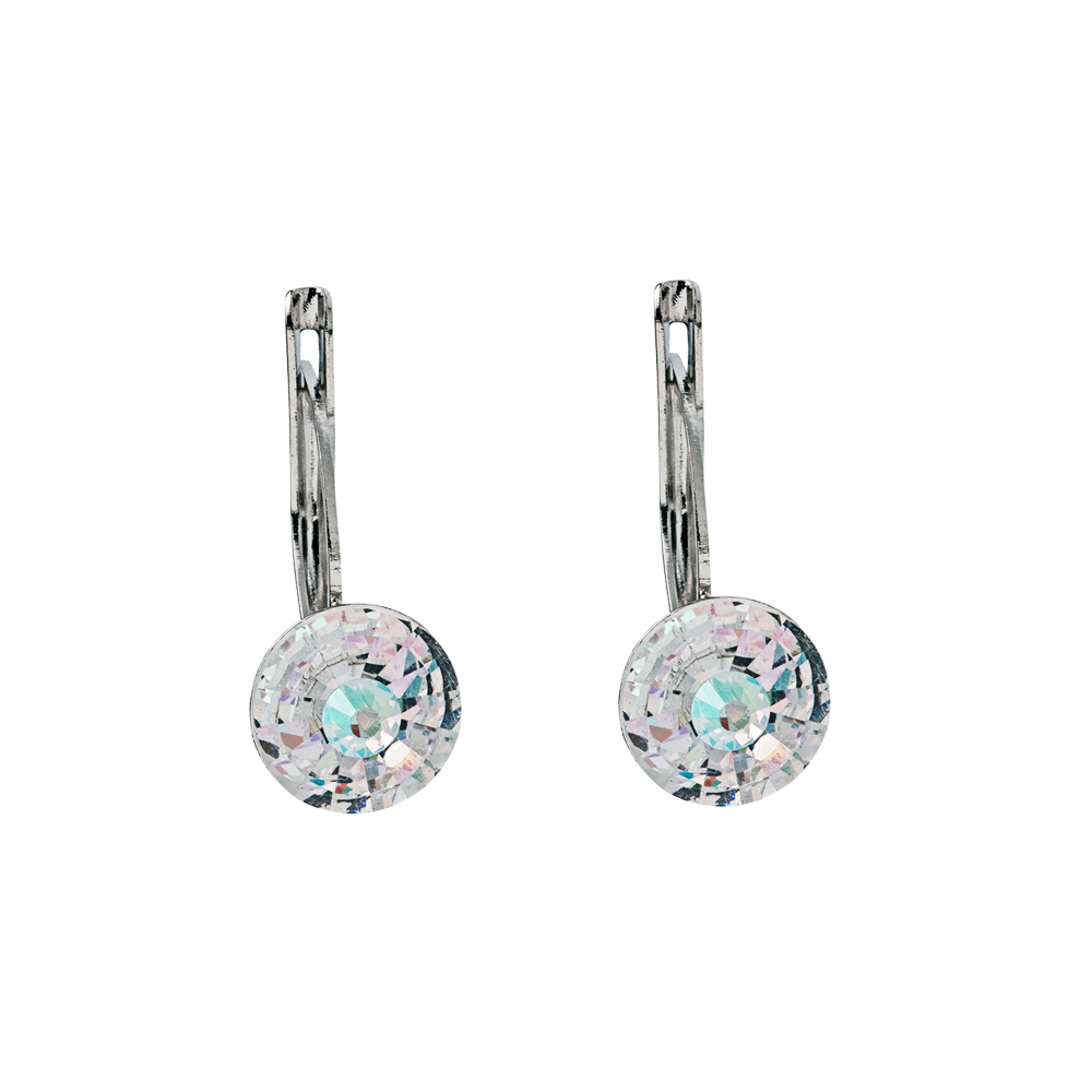 Preciosa Crystal Aurora Borealis Earrings - Alicia