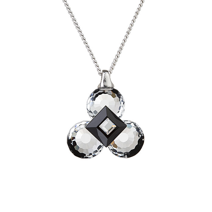 Pendant Crystal and Black Clover Pendant , Jenny