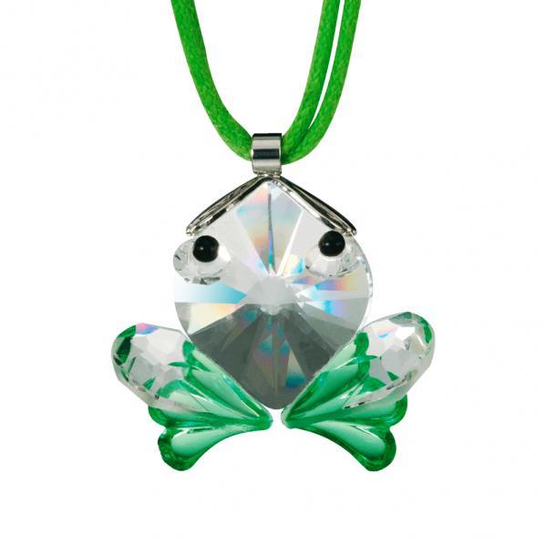 Preciosa Crystal Froggy Pendant