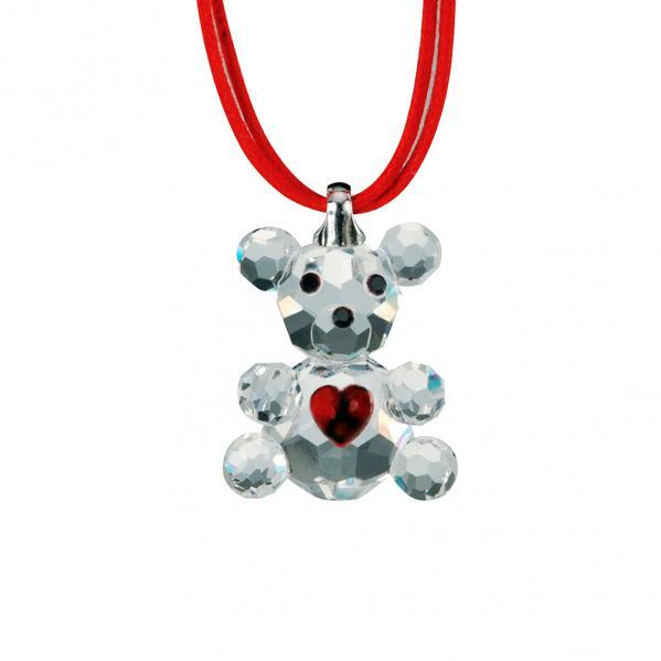 Preciosa Crystal Baby Bear Pendant