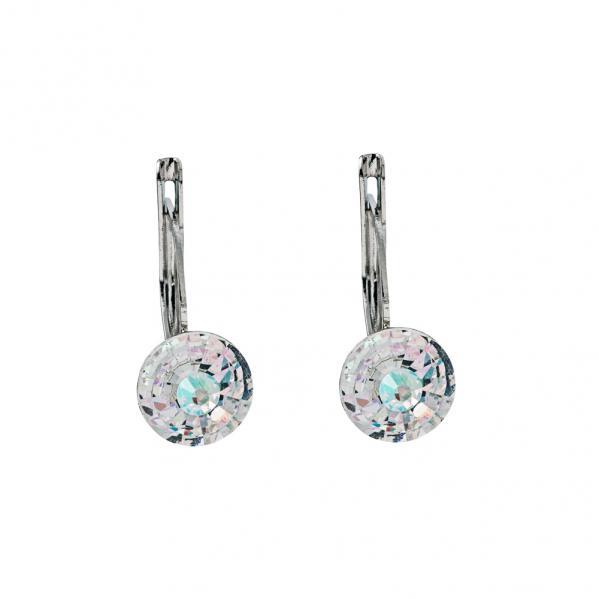Preciosa Crystal Aurora Borealis Earrings - Alicia