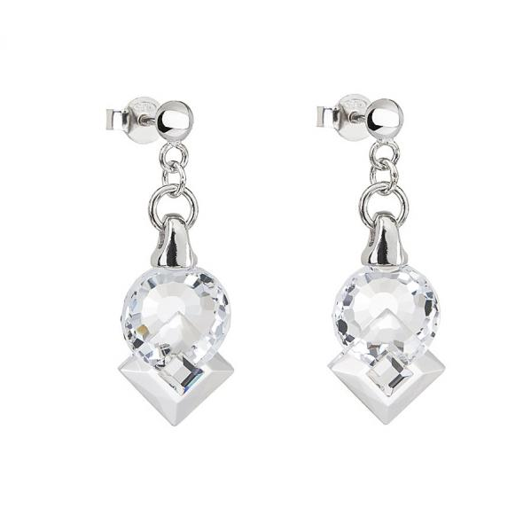 Preciosa Crystal Clear Earrings - Jenny