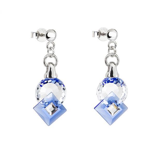 Preciosa Crystal Sapphire Earrings - Jenny